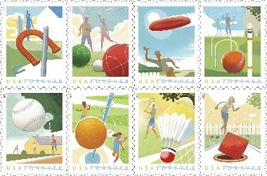 Backyard Games stamps