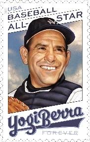 Yogi Berra stamps