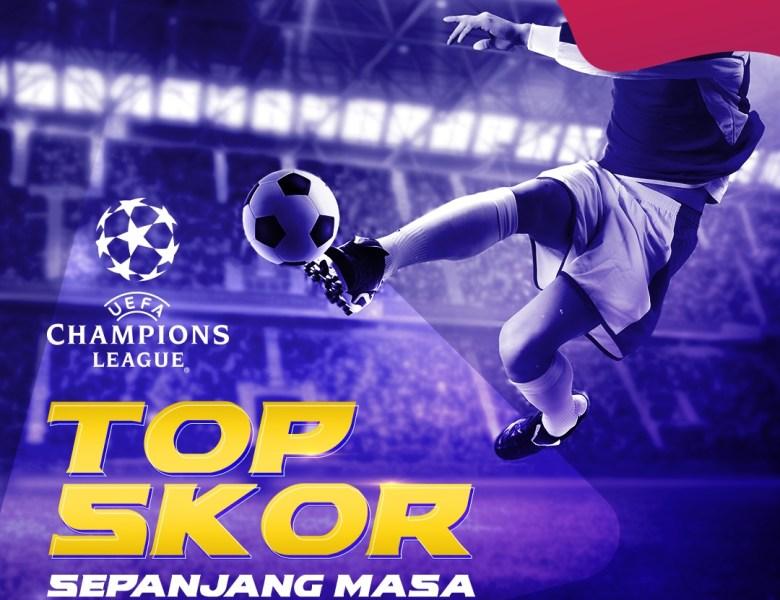 Pencetak Top Skor Liga Champion Sepanjang Masa
