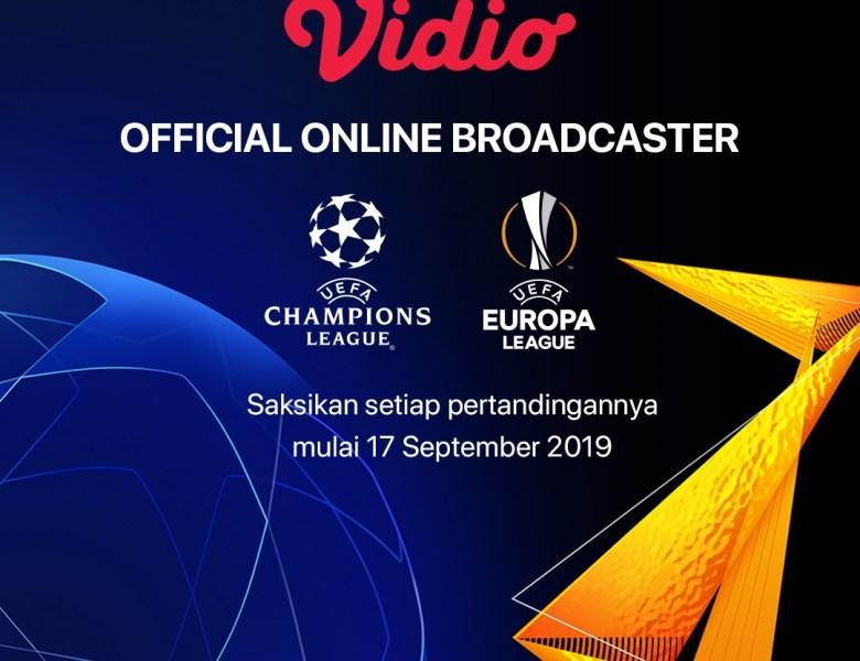 Vidio Official Online Broadcaster Liga Champions & Liga Eropa