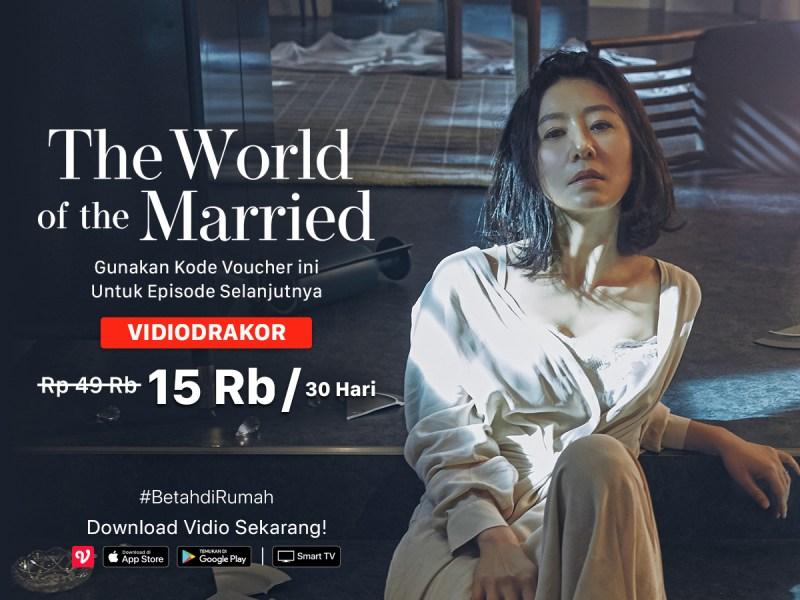 The World of The Married Sekarang Tayang di Vidio!
