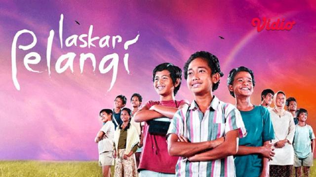 nonton film Indonesia Laskar Pelangi di Vidio