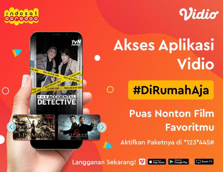 Promo Berlangganan Vidio Dengan Indosat Bebas Nonton Film Favoritmu