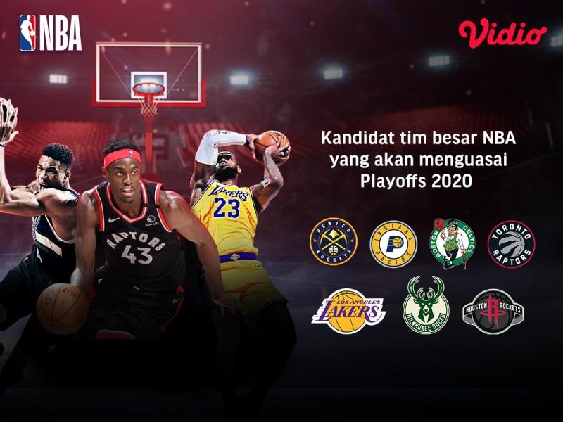 8 Tim Potensial yang Akan Merebutkan Gelar NBA 2020