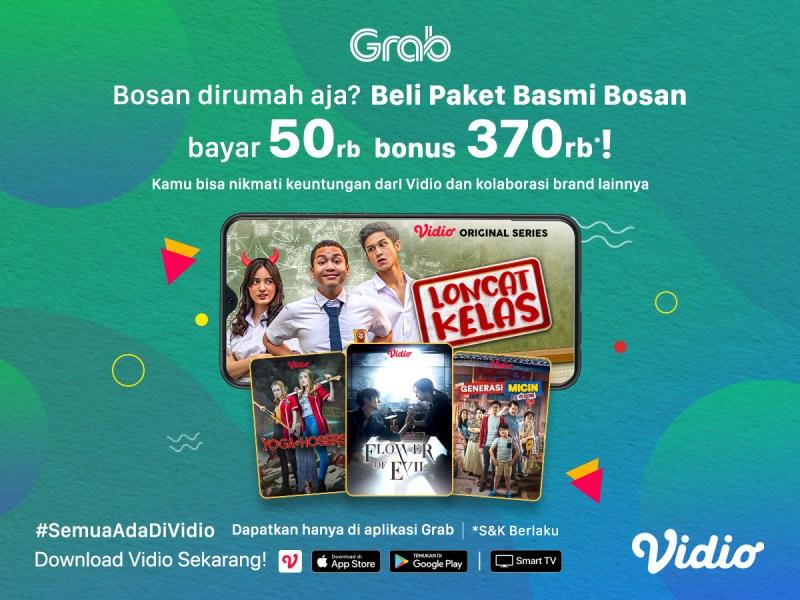 Basmi Bosan Bayar 50rb, Dapatkan BONUS Potongan Vidio Premier Platinum 1 Tahun!