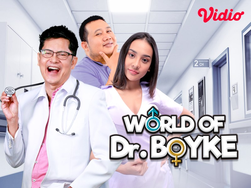 World of Dr Boyke Original Series, Ada Anya Geraldine Jadi Suster Cantik