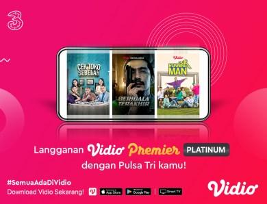 Hilangkan Kejenuhanmu Dengan Nonton Film & Streaming Sports Menggunakan Promo Premier Platinum Tri