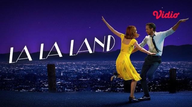 Film barat terbaik ada La La Land di Vidio Rental