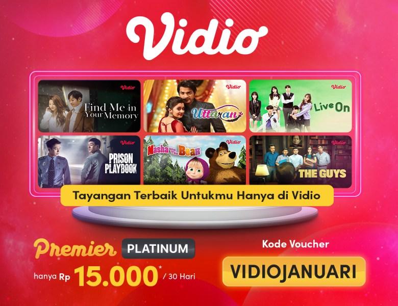 Nonton Film Streaming Cuma Rp 15.000,- Promo Khusus Januari!