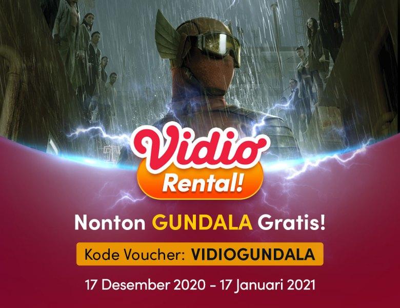 Nonton Gundala Full Movie Gratis di Vidio, Jangan Sampai Terlewat
