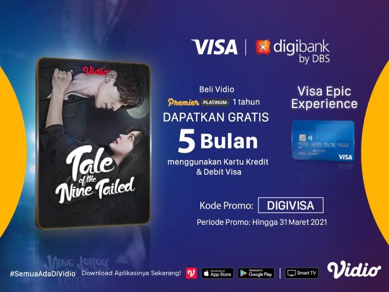Promo Kartu Kredit & Debit Visa digibank, Beli Vidio 1 Tahun Dapatkan Gratis Ekstra 5 Bulan