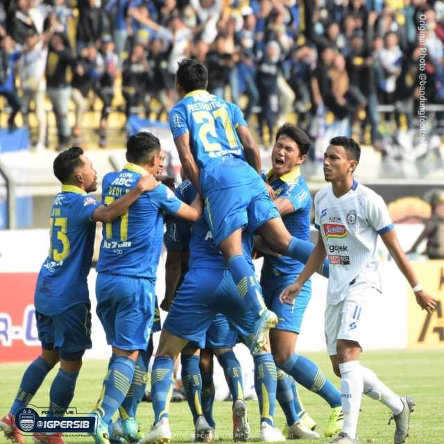 persib bandung di liga 1 Indonesia