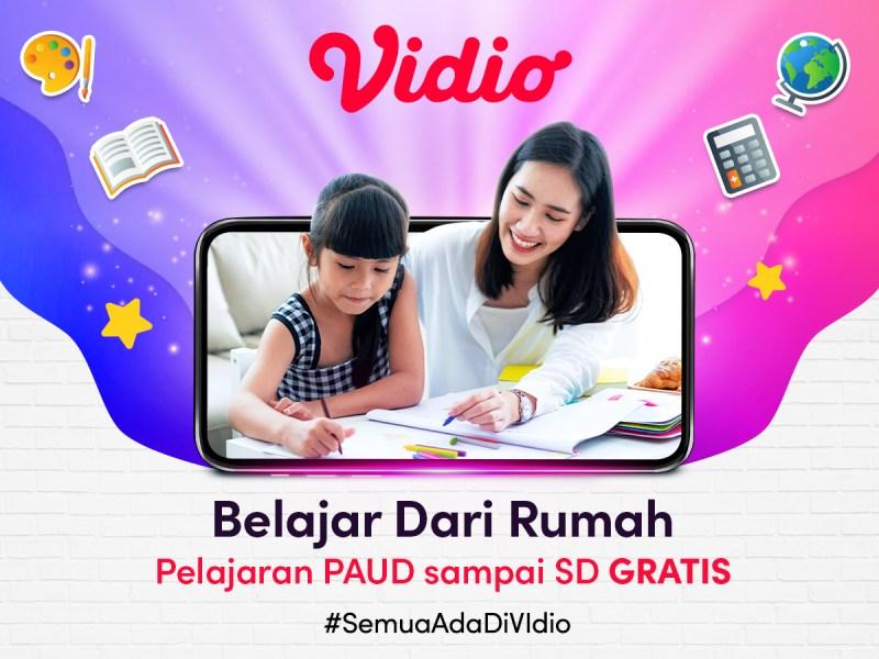 Jadwal Belajar Dari Rumah TVRI Minggu Ini, Streaming BDR di Vidio