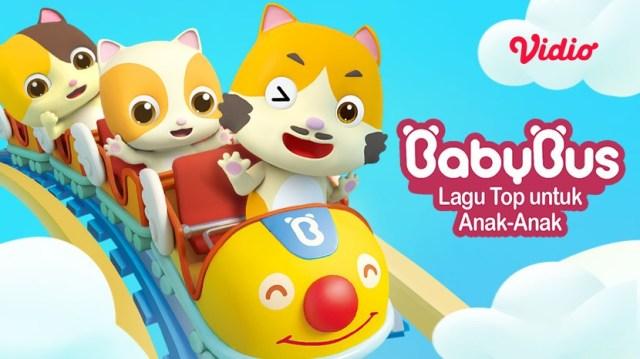 Kartun Baby Bus dengan lagu top untuk anak-anak.