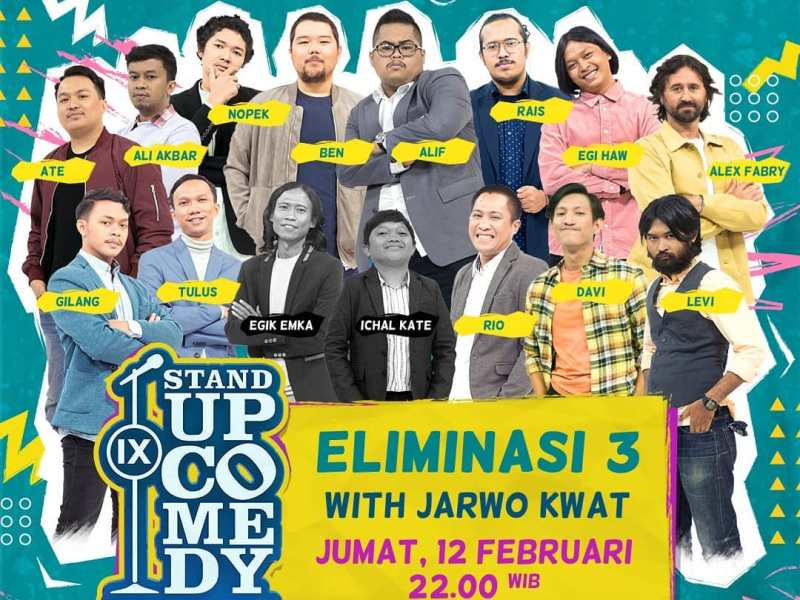 Stand Up Comedy Indonesia IX Kompas TV Sudah Digelar, Nonton di Vidio