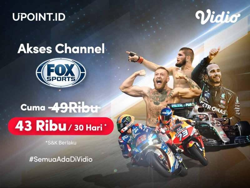 Promo Upoint.id, Bebas Nonton F1 & MotoGP di Fox Sports Paling Hemat!