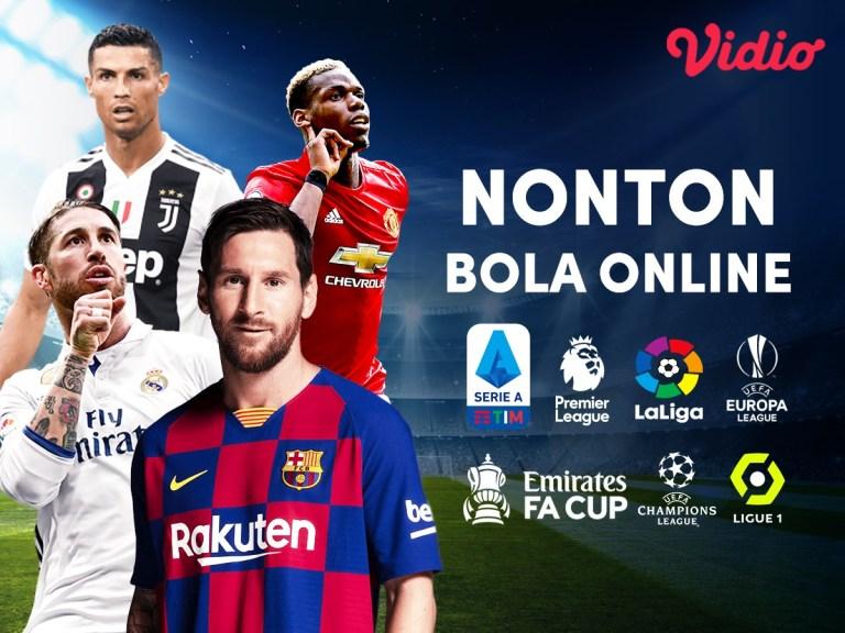 Vidio, Situs Nonton Bola Online yang Legal & Eksklusif