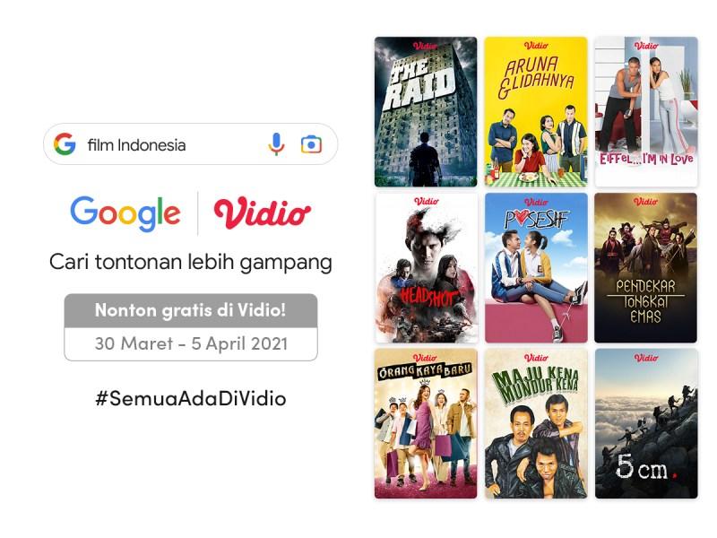 Sambut Hari Film Nasional, Nonton Film Indonesia Terbaik di Vidio Gratis