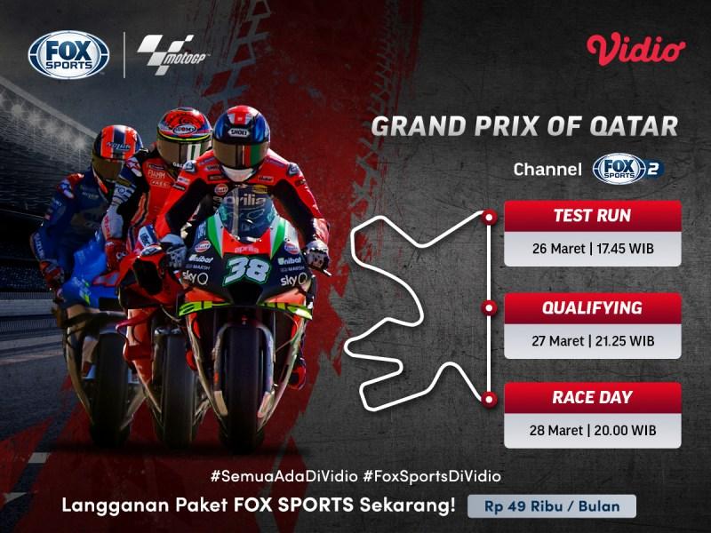 Jadwal MotoGP 2021 Lengkap, Ini Link Nonton Streamingnya