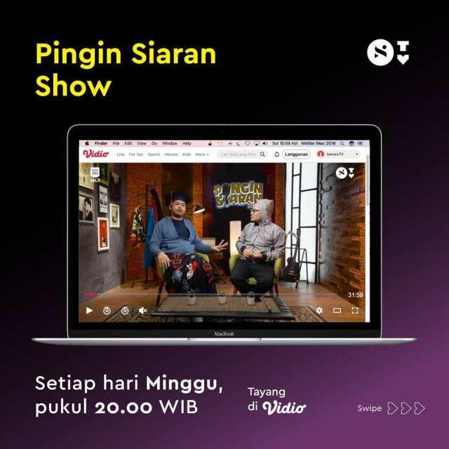 live streaming pingin siaran show di samara tv