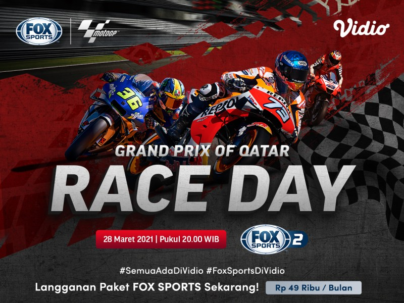 Hasil MotoGP Qatar 2021, Maverick Vinales di Posisi Pertama
