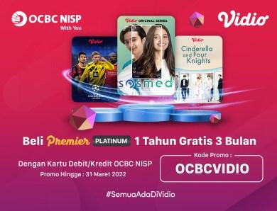 Promo Asik Nonton Apa Aja Di Vidio Seharian Bareng OCBC NISP!