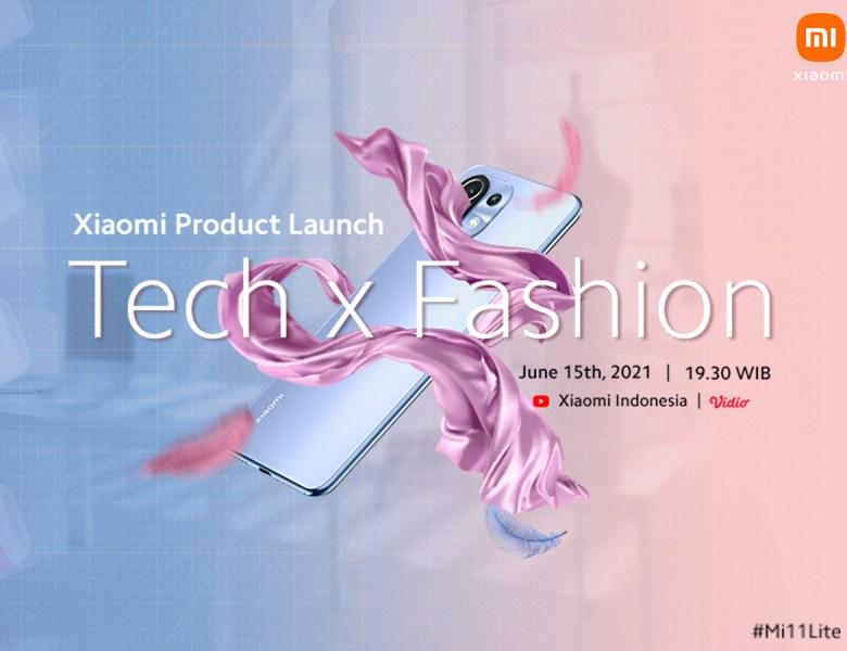 "Live Streaming Peluncuran Xiaomi Mi 11 Lite di Vidio, Bertema ""Tech x Fashion"""