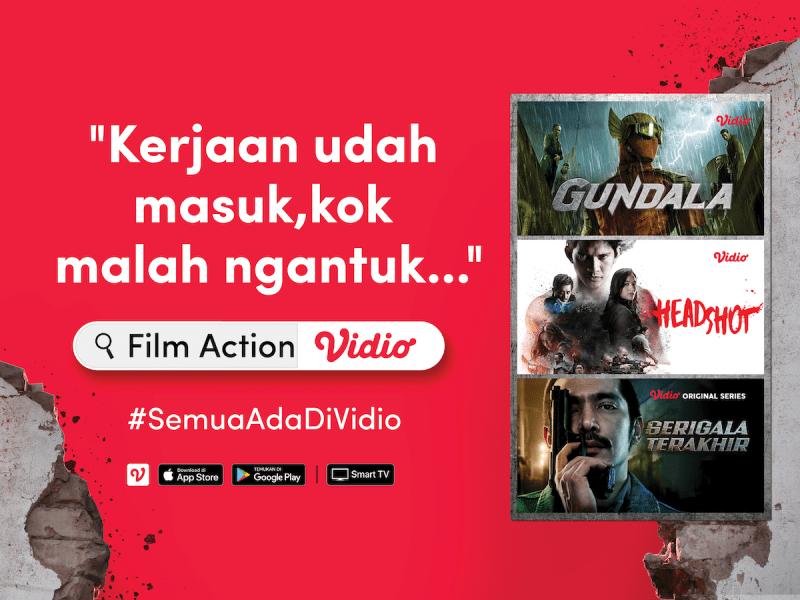 Rekomendasi Film Action Terpopuler #SemuaAdaDiVidio
