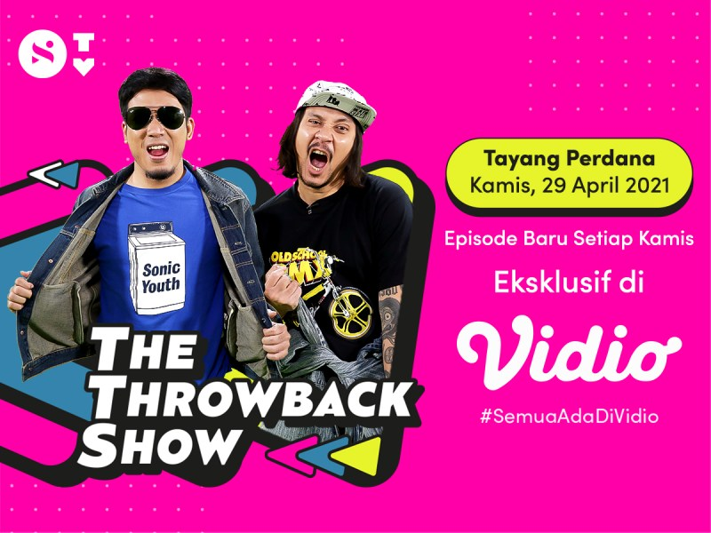 Nostalgia Generasi 90an bareng The Throwback Show di Samara TV