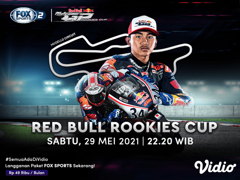 Live Streaming Red Bull Rookies Cup 2021 Seri Italia di FOX Sports