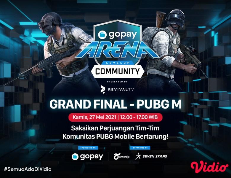 Grand Final GoPay Arena Level Up Community – PUBG Mobile