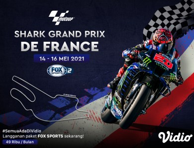 Streaming MotoGP Seri Prancis 2021 Eksklusif di Vidio