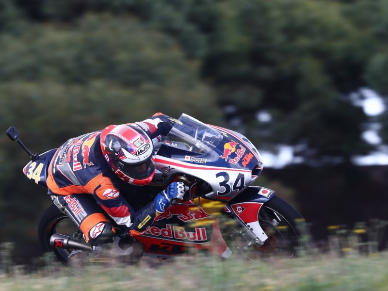 Mario Aji Jebolan Red Bull Rookies Cup, Menjadi Pembalap Indonesia yang Tampil di FIM CEV Moto3 2021