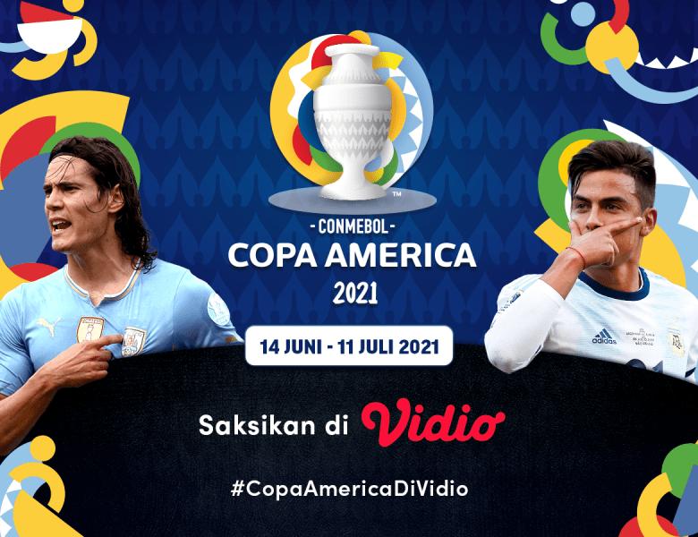 Jadwal dan Live Streaming Copa America 2021 di Vidio
