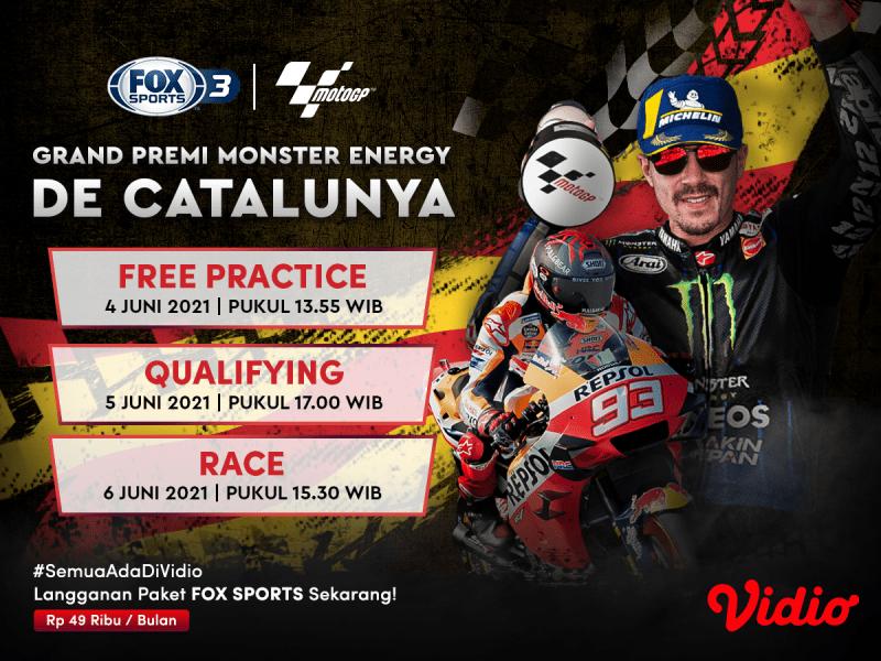Jadwal MotoGP Catalunya 2021: Bangkitnya Valentino Rossi, 4-6 Juni 2021 Eksklusif di Vidio
