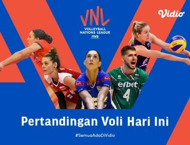 VNL 2021 Jepang vs Bulgaria Big Match Hari Ini: Jepang Siap Sapu Bersih Sisa Laga, 21 Juni Live Streaming di Vidio