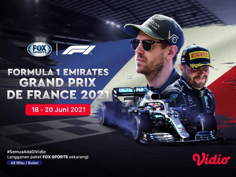 Jadwal dan Live Streaming Formula 1 Emirates Grand Prix De France 2021 Akhir Pekan Ini: Ajang Pembuktian Mercedes