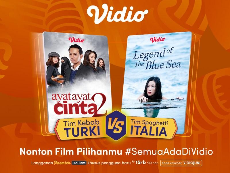 Nonton Film Romantis Indonesia atau Drama Korea Terbaik Bisa Keduanya Hanya di Vidio
