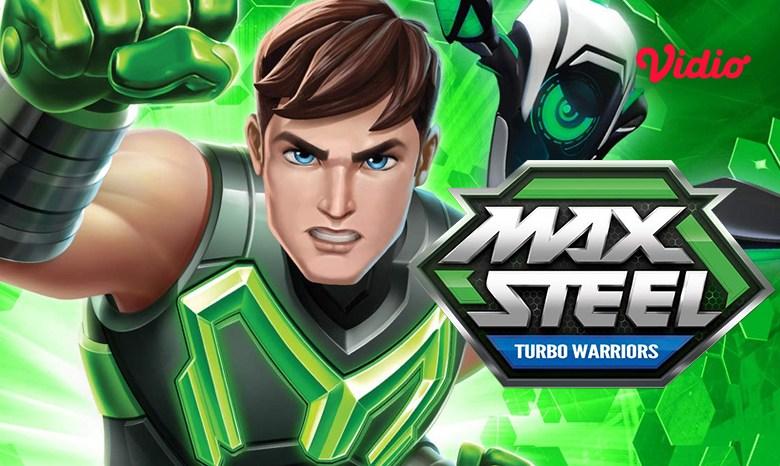 Sinopsis Kartun Anak Max Steel Turbo Warriors, Manusia Robot Penyelamat Kejahatan Dunia