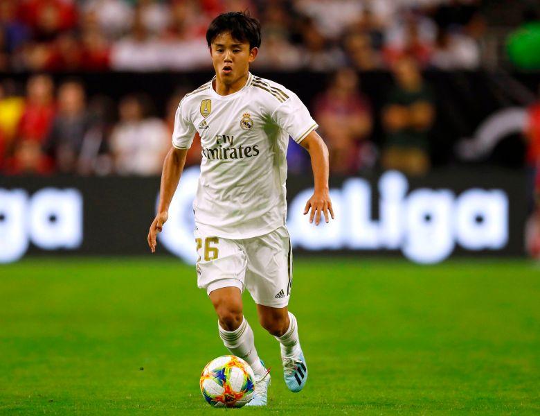 Wonderkid Milik Real Madrid, Takefusa Kubo Akan Tampil di Olimpiade Tokyo 2020