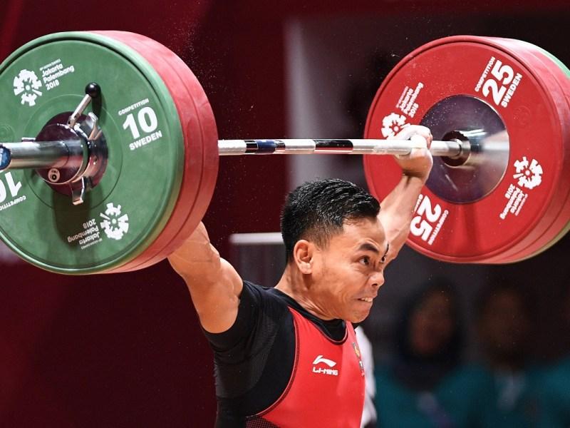 Indonesia Kirimkan 5 Atlet Angkat Besi Tangkas ke Olimpiade Tokyo 2020
