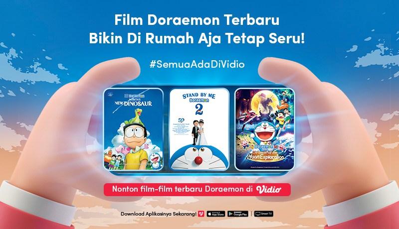 Nonton Doraemon the Movie di Vidio, Menjelajah ke Tempat Penuh Kejutan bersama Nobita dan Kawan-Kawan