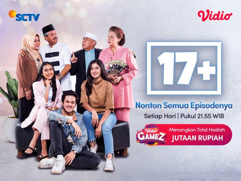 Belum Tamat! Kini Sinetron SCTV 17+ Pindah ke Vidio, Nonton Sepuasnya Bebas Iklan