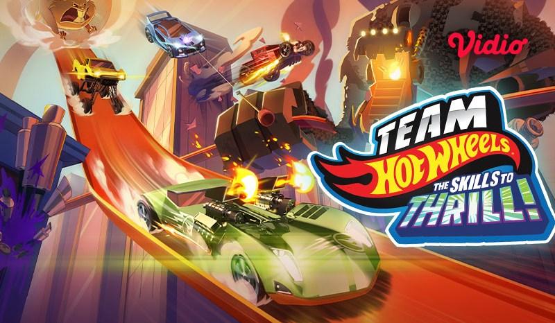 Nonton Film Animasi Team Hot Wheels Skills to Thrill, Ketika Tim Berhadapan dengan Nitrobot