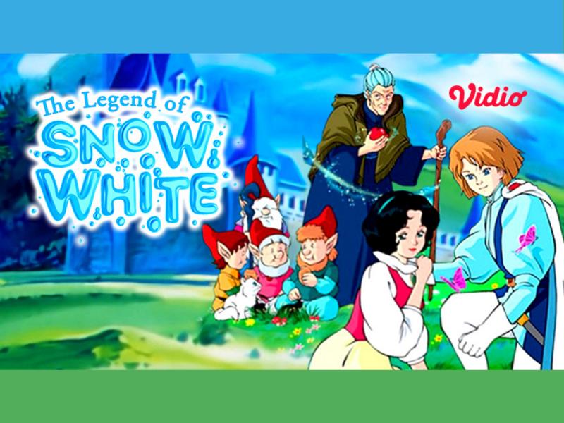 Nonton Kartun Jadul The Legend of Snow White, Kisah Putri Salju yang Diasingkan Ibu Tirinya