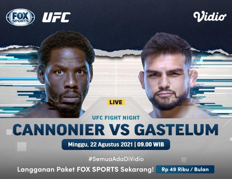 Streaming UFC Fight Night Cannonier Vs Gastelum FOX Sports 1