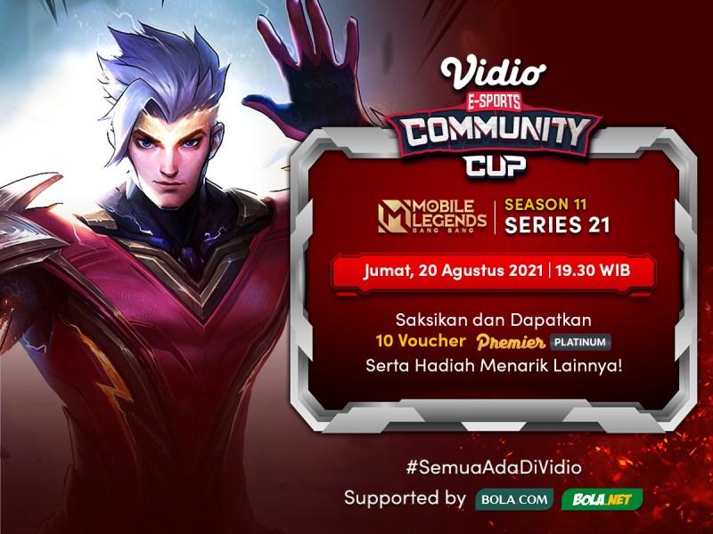 Streaming Vidio Community Cup Season 11 Mobile Legends