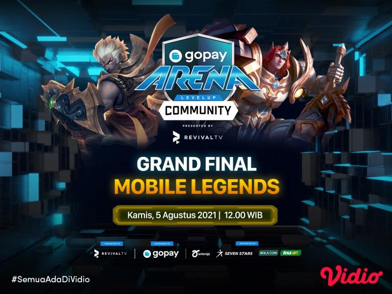 Streaming GoPay Arena Level Up Community Mobile Legends