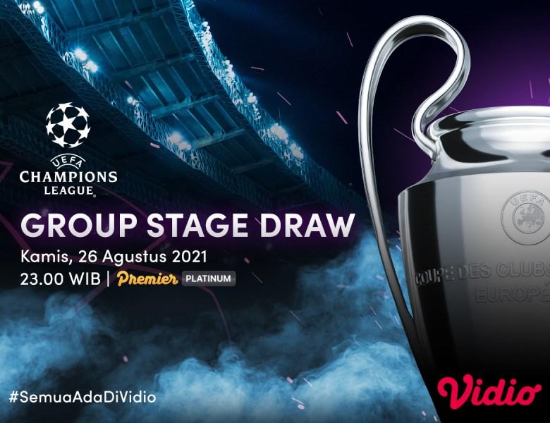 Link Live Streaming Drawing Liga Champions 2021-2022