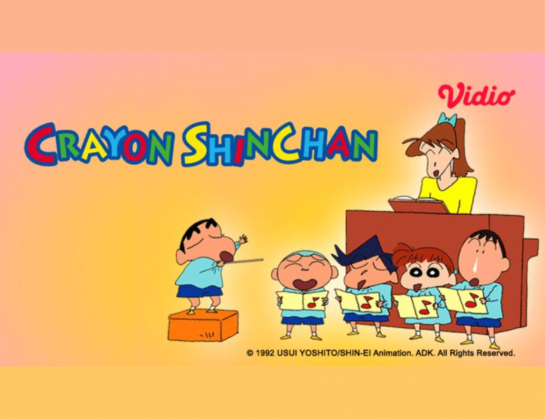 Hadir di Vidio, Nonton Kartun Crayon Shinchan Sekarang untuk Mengenang Masa Kecilmu